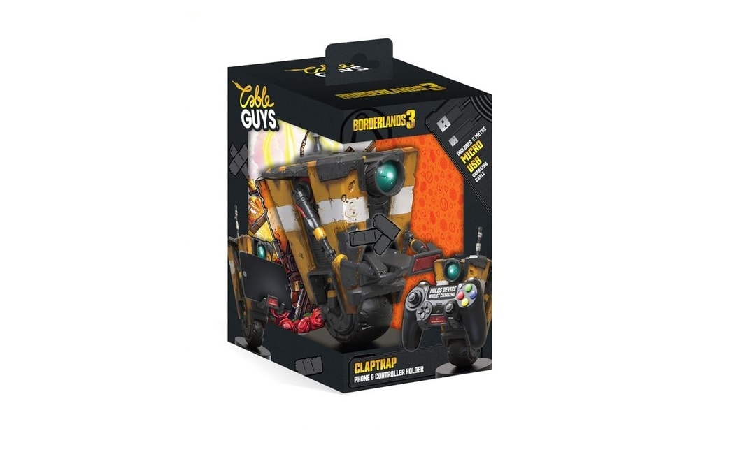 Borderlands 3 Claptrap - Phone & Controller Holder