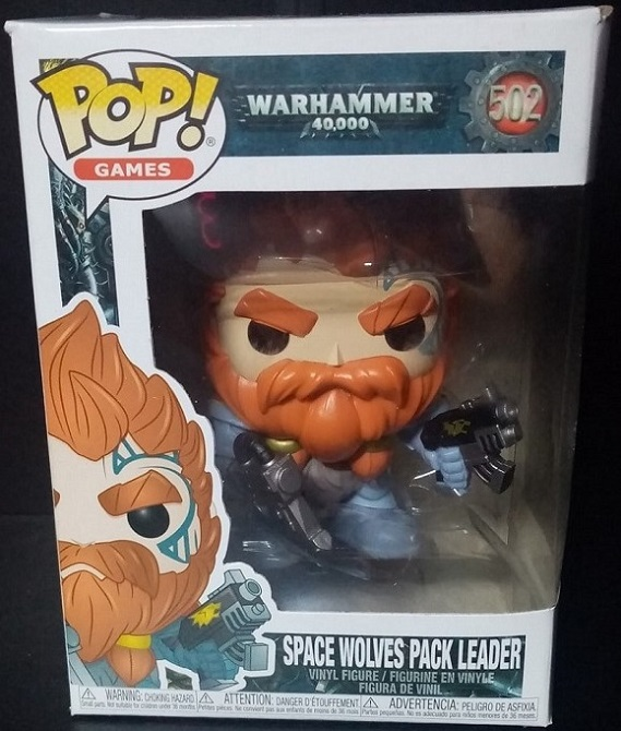 Funko Pop! Games: Warhammer 40,000 - Space Wolves Pack Leader Review