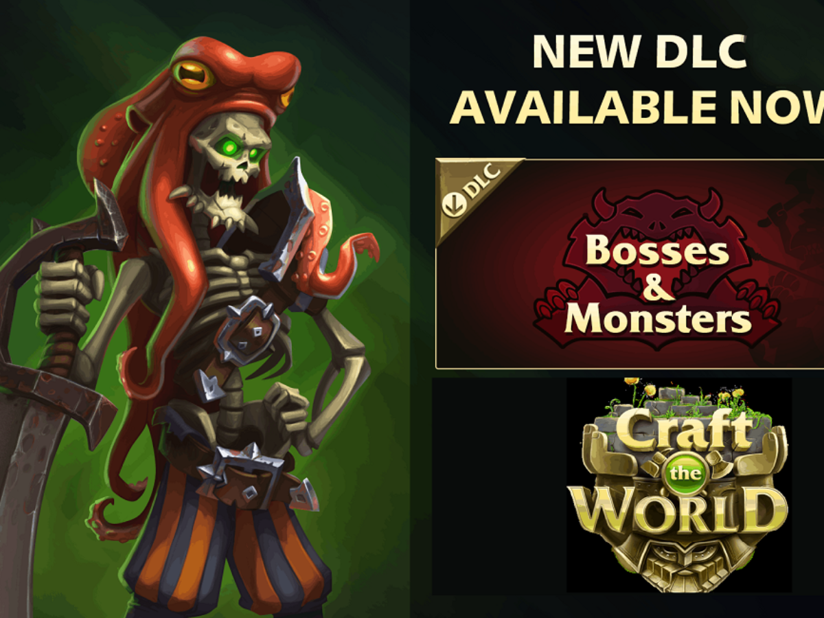 Craft The World – Bosses & Monsters Review