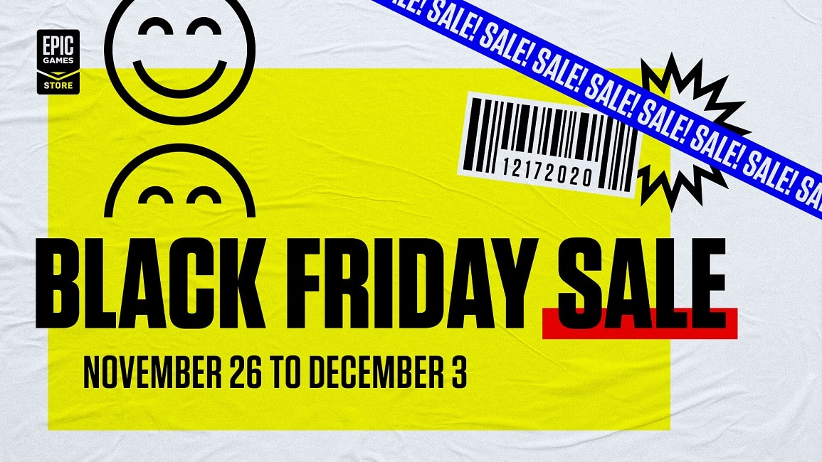 Epic's Black Friday Sale Starts Soon!