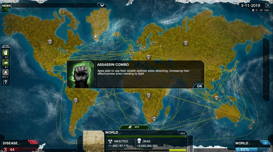 Image of: Plague Inc Evolved Review Mgr Gaming