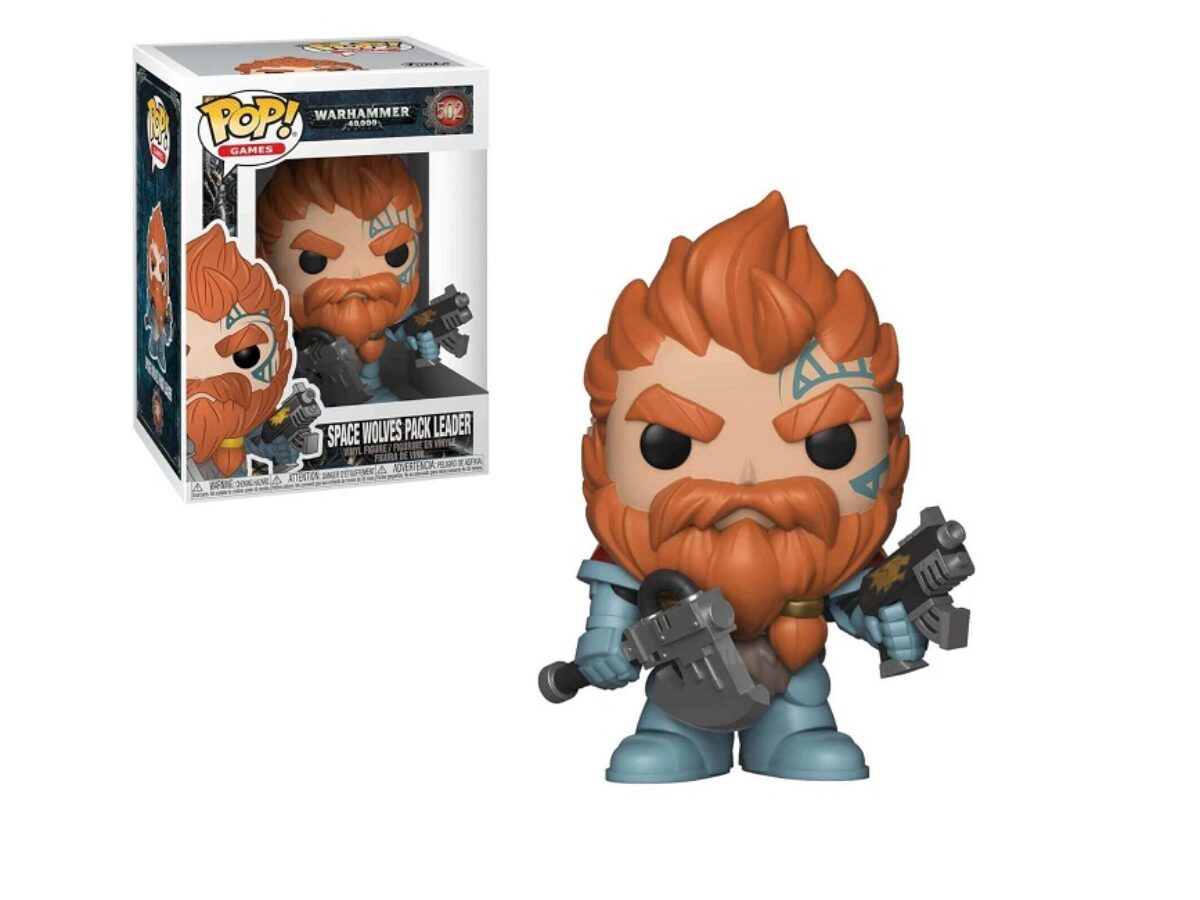 Funko Pop! Games: Warhammer 40,000 – Space Wolves Pack Leader Review