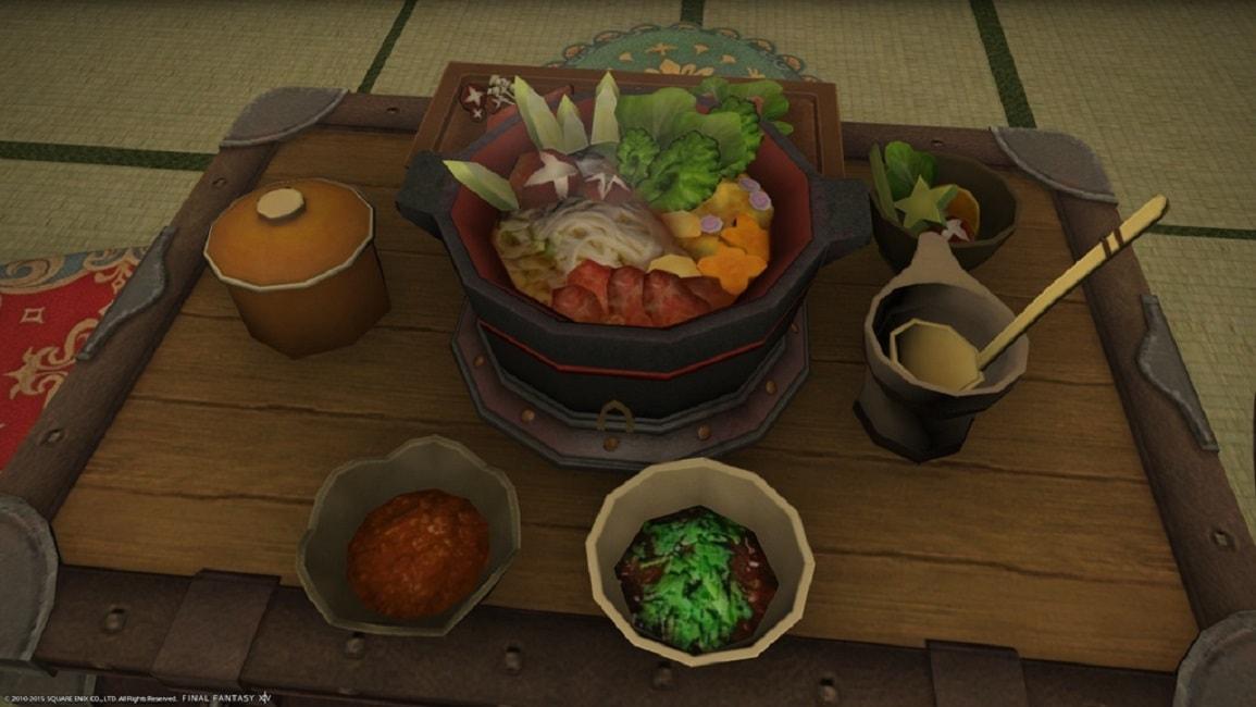 Final Fantasy XIV Gets Cookbook