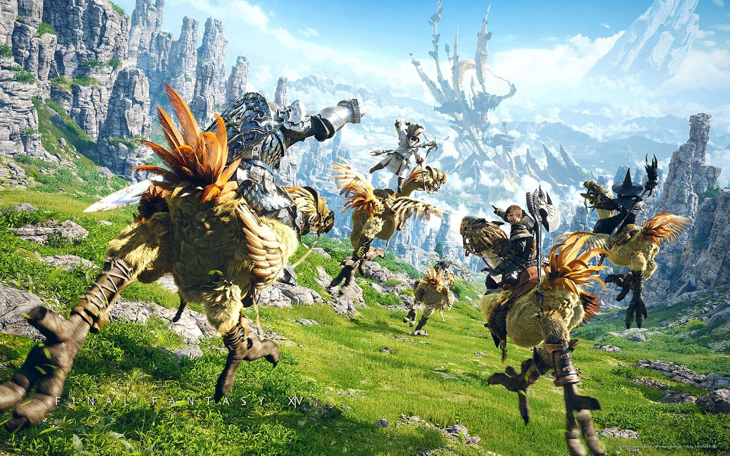 Final Fantasy XIV Runs Out Of Digital Copies Due To Spike In Players