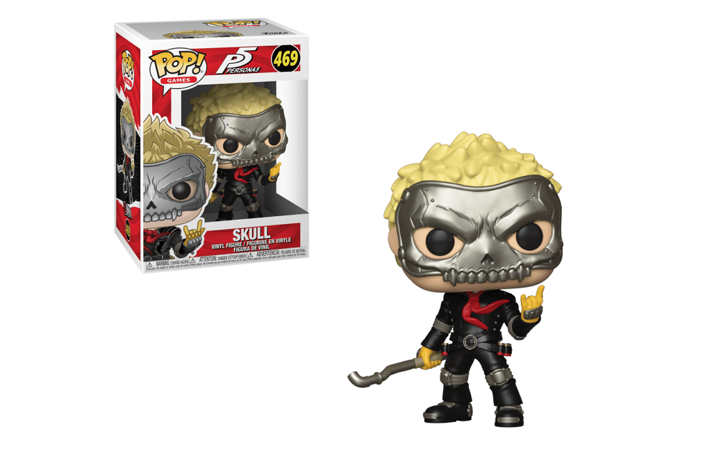 Funko Pop! Games: Persona 5 - Skull Review