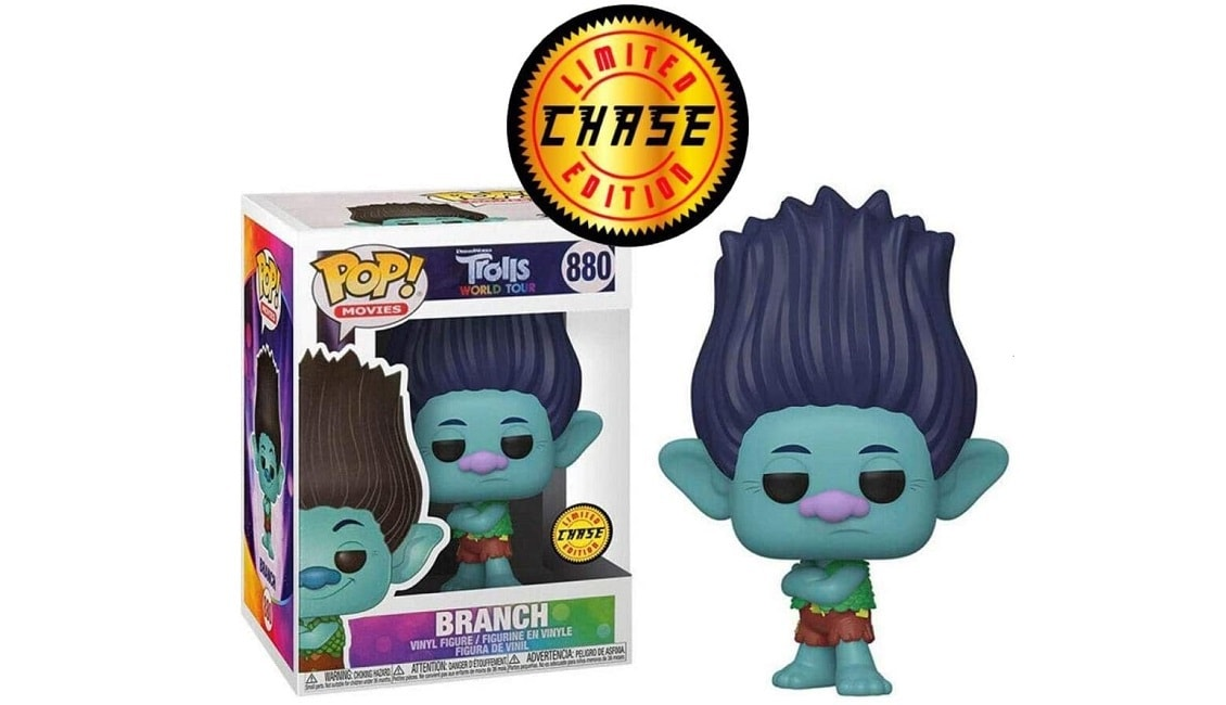 Funko Pop! Movies: Trolls World Tour Branch (L.E.C.) Review