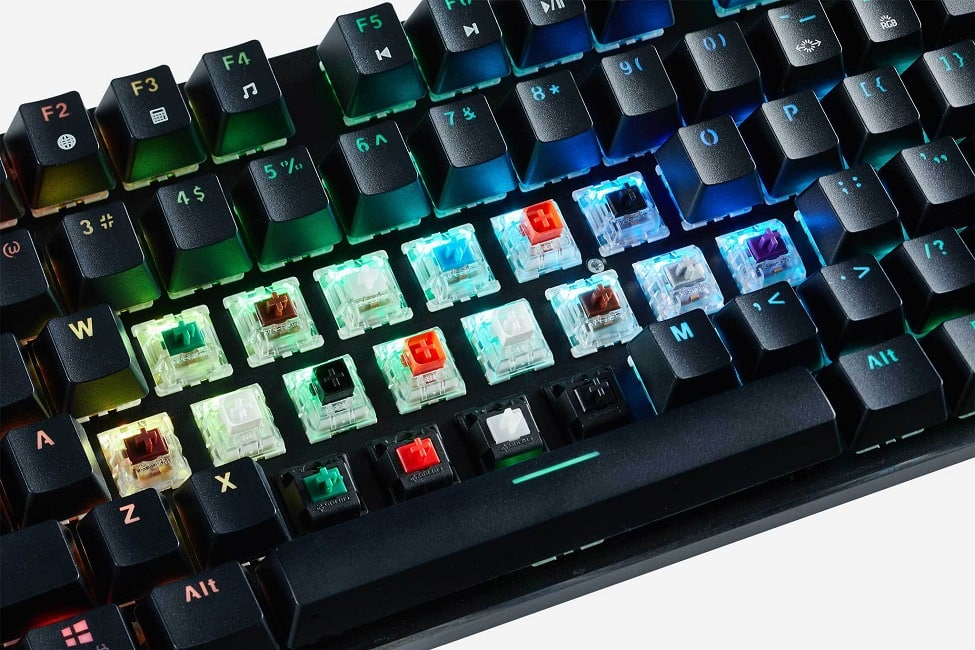 Mechanical Keyboard Switches, We Explain The Different Types And Their Uses