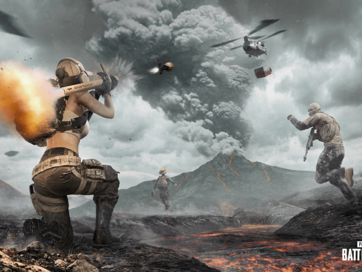 PUBG's New 9.1 Patch: Shifting Maps And Live Volcanoes