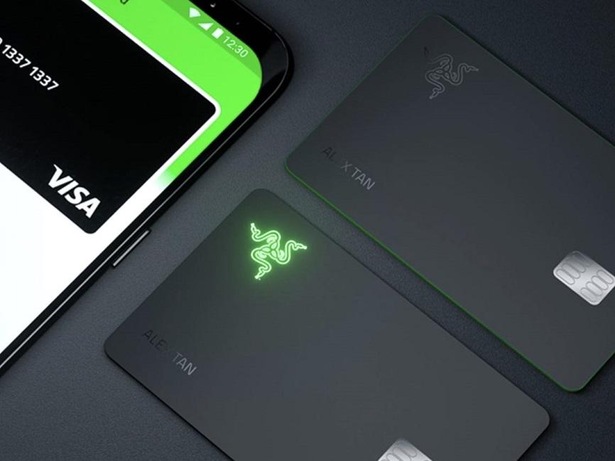 Razer's new LED Visa Card