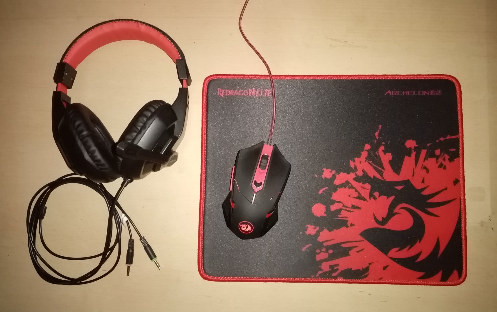 Redragon S101-BA PC Gaming Keyboard and Mouse Combo 3