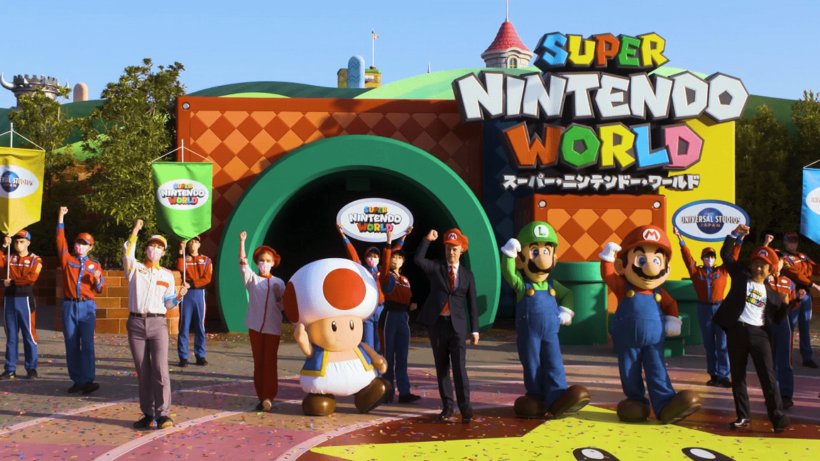 Super Nintendo World Opens Its Doors