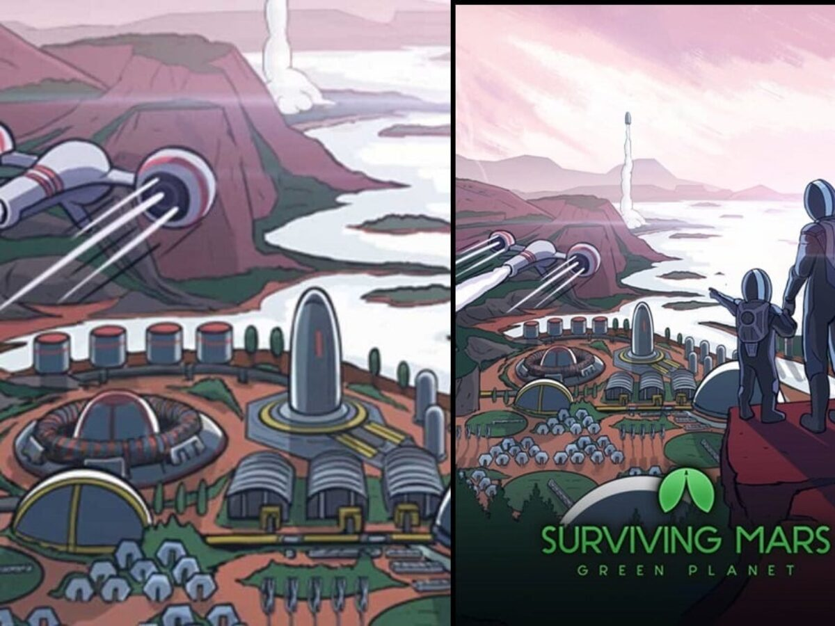 Surviving Mars: Green Planet Review
