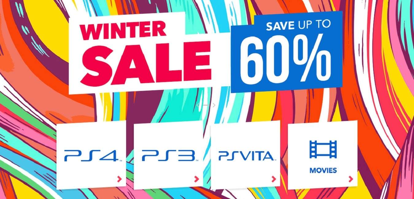 The PlayStation Store Winter Sale Is Now On