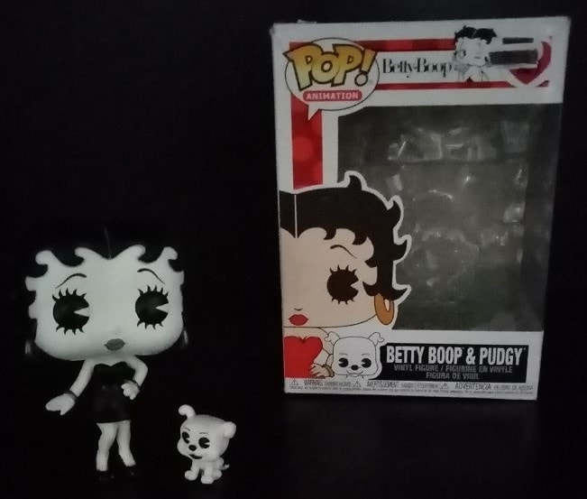 Betty Boop And Pudgey Funko Pop Review