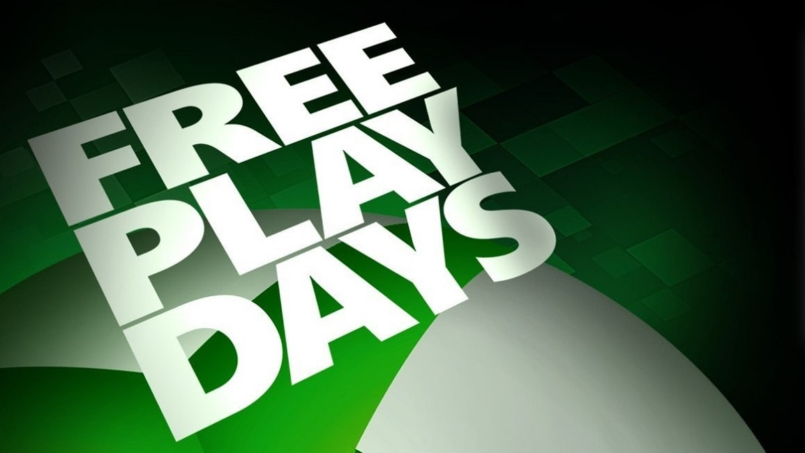Xbox Free Play Days For January 2021