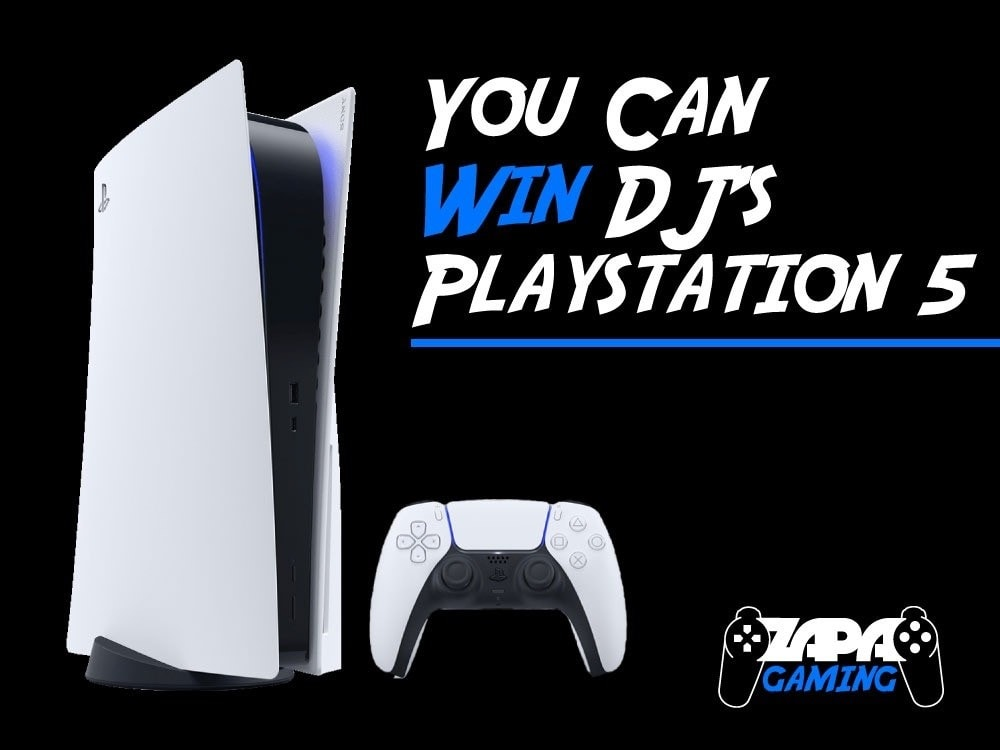 ZAPA Is Giving Away A PS5!